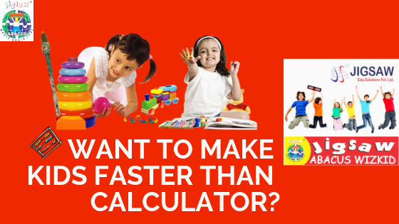 Want to make kids faster than calculator? | Jigsaw abacus